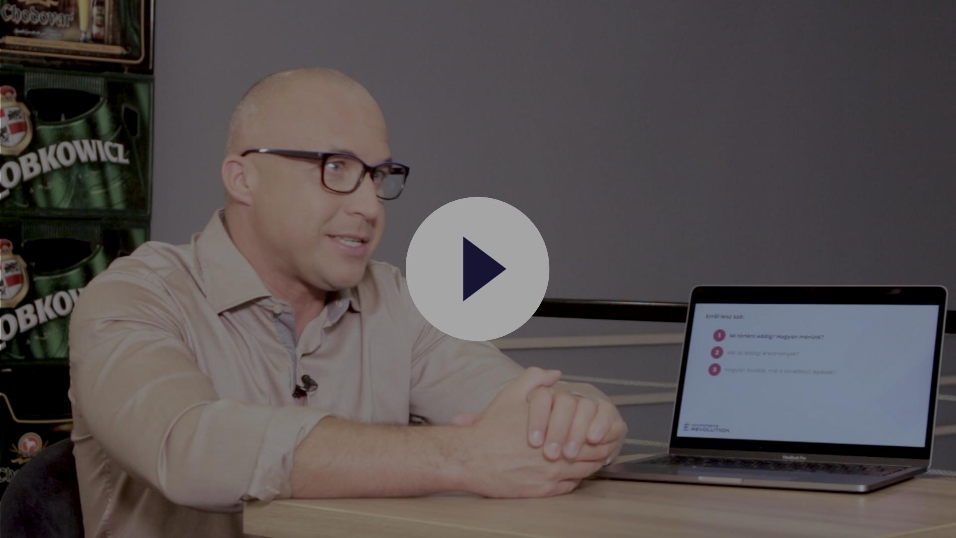 Krisztián prezentációja a Beerselection számára az optimalizációs időszak felénél