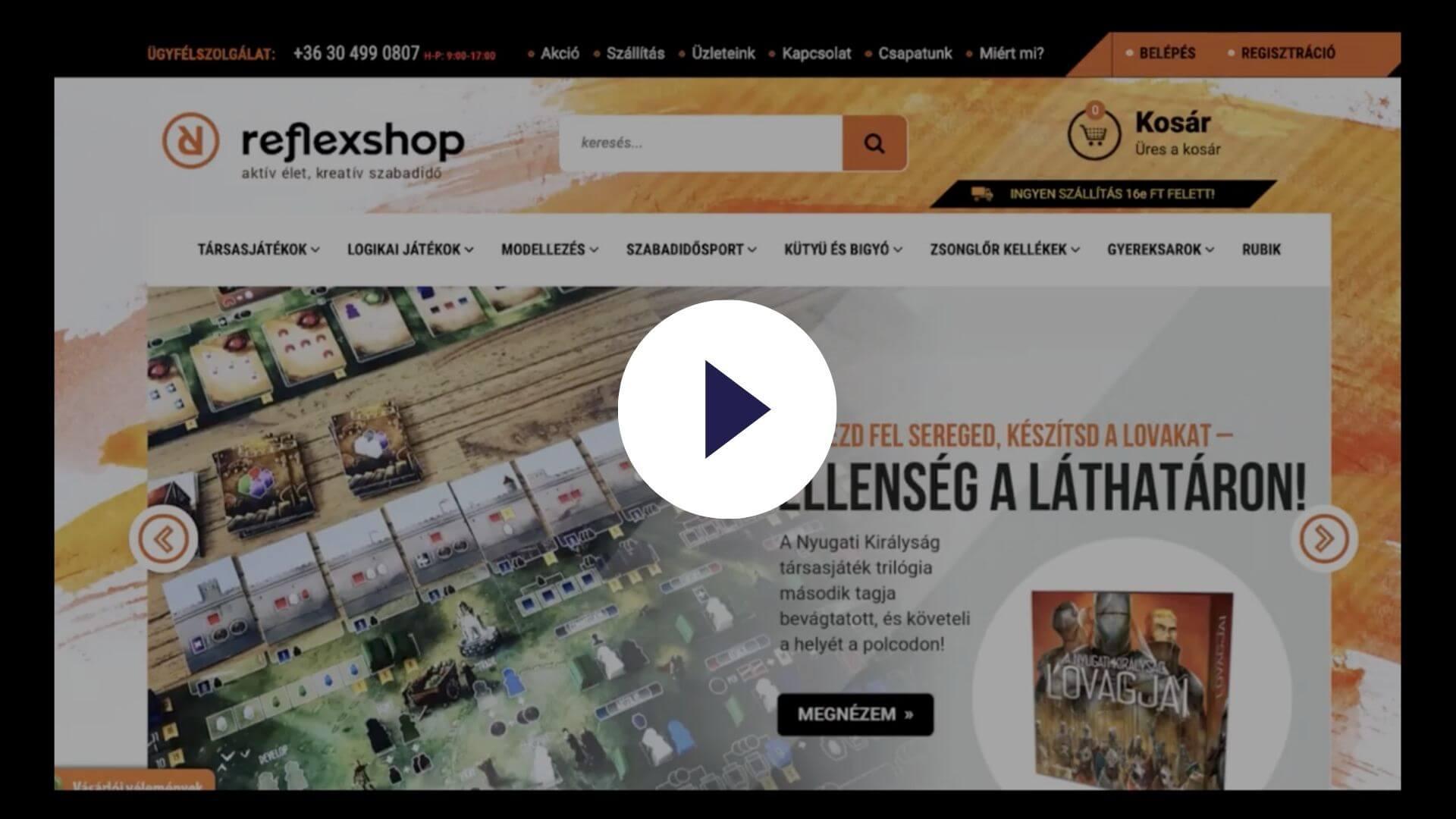 Hogyan használja a Reflexshop az OptiMonkot